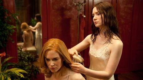 Nicole Kidman and Mia Wasikowska in