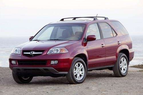 The 2005 Acura MDX was part of a