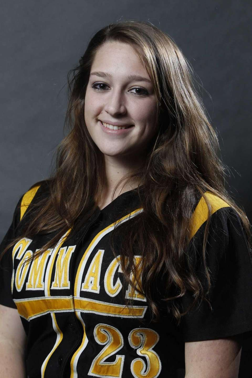 KIERSTEN CARLOMAGNO Commack, P, Sr. The right-hander was