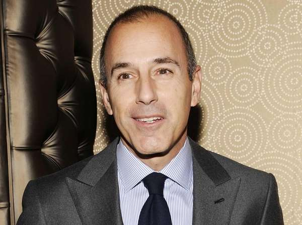 "Matt Lauer attends the ""Today"" show 60th anniversary"