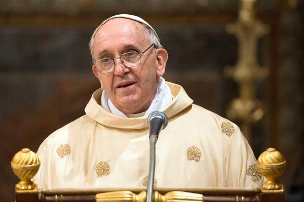 Pope Francis, Argentina's Jorge Mario Bergoglio, leading a