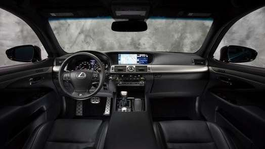 Lexus LS excellent interiors overshadow average engine | Newsday