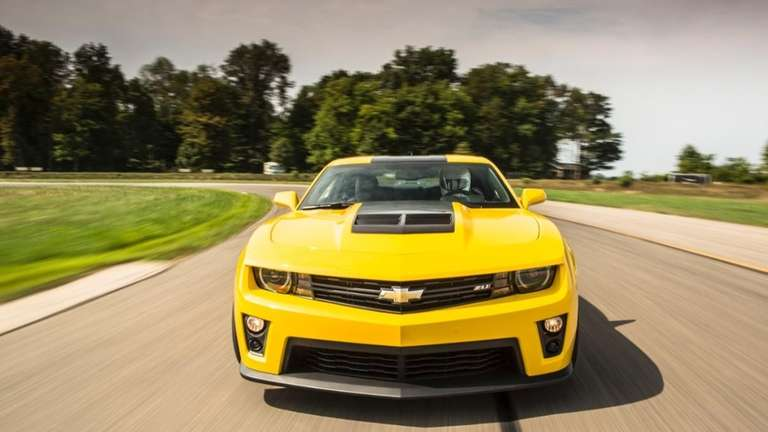 The 580-horsepower 2014 Camaro ZL1 will be a