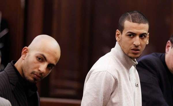Would-be terror suspects Ahmed Ferhani, left, 26, and