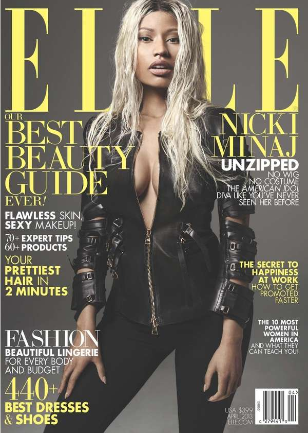 Nicki Minaj covers the April 2013 issue of