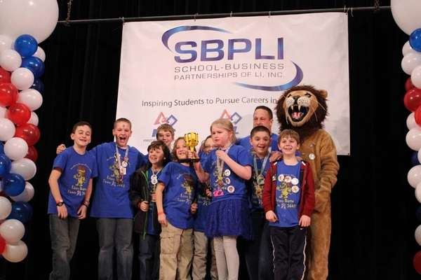 Academy Street Elementary School's team in Bayport won