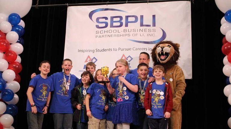 Academy Street Elementary School's team in Bayport won