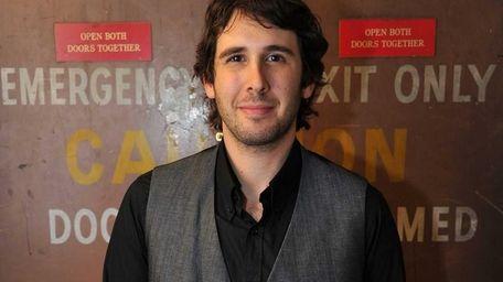 Josh Groban, host of