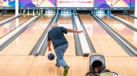 Levittown Lanes reopened for bowling Monday.