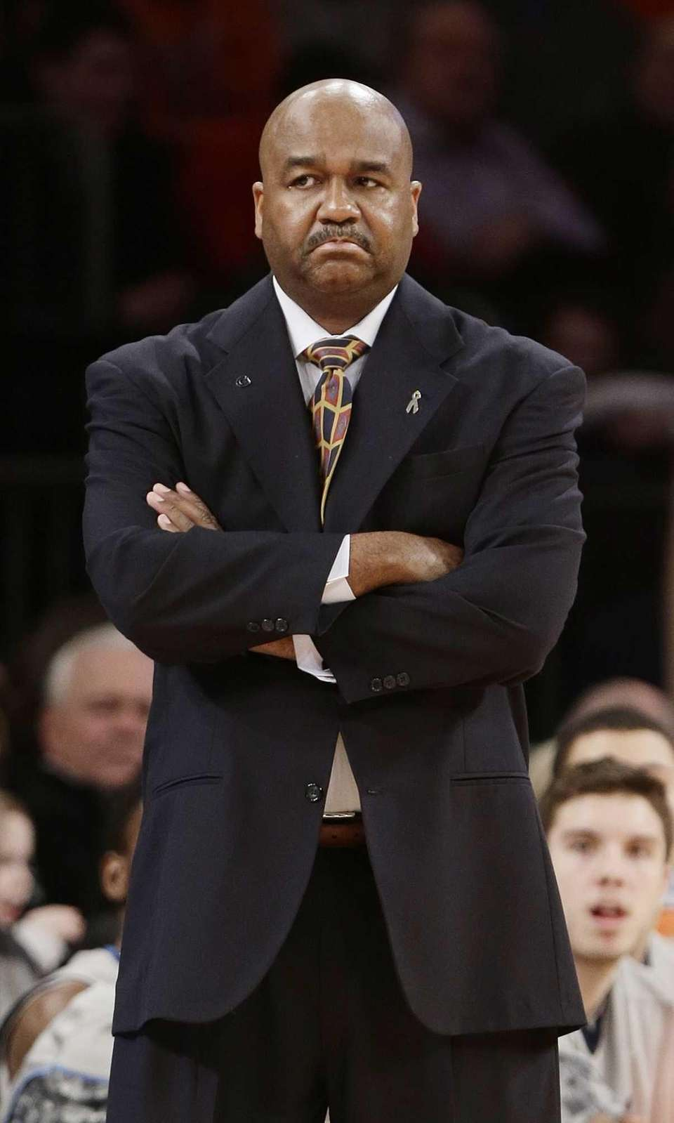 Georgetown head coach John Thompson III watches his