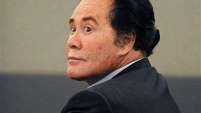 Entertainer Wayne Newton in court in Las Vegas.