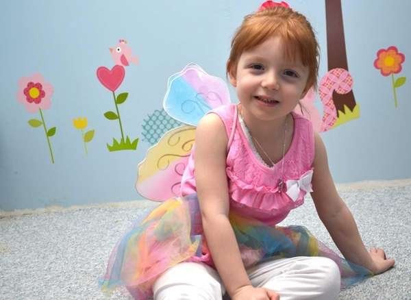 Katie Patton, 3, of Holbrook, was diagnosed with