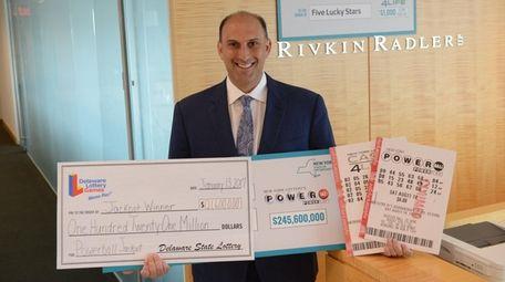 Jason Kurland at his Long Island firm Rivkin