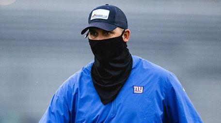 Head coach Joe Judge at Giants training camp