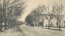 Looking west on Main Street in Smithtown in