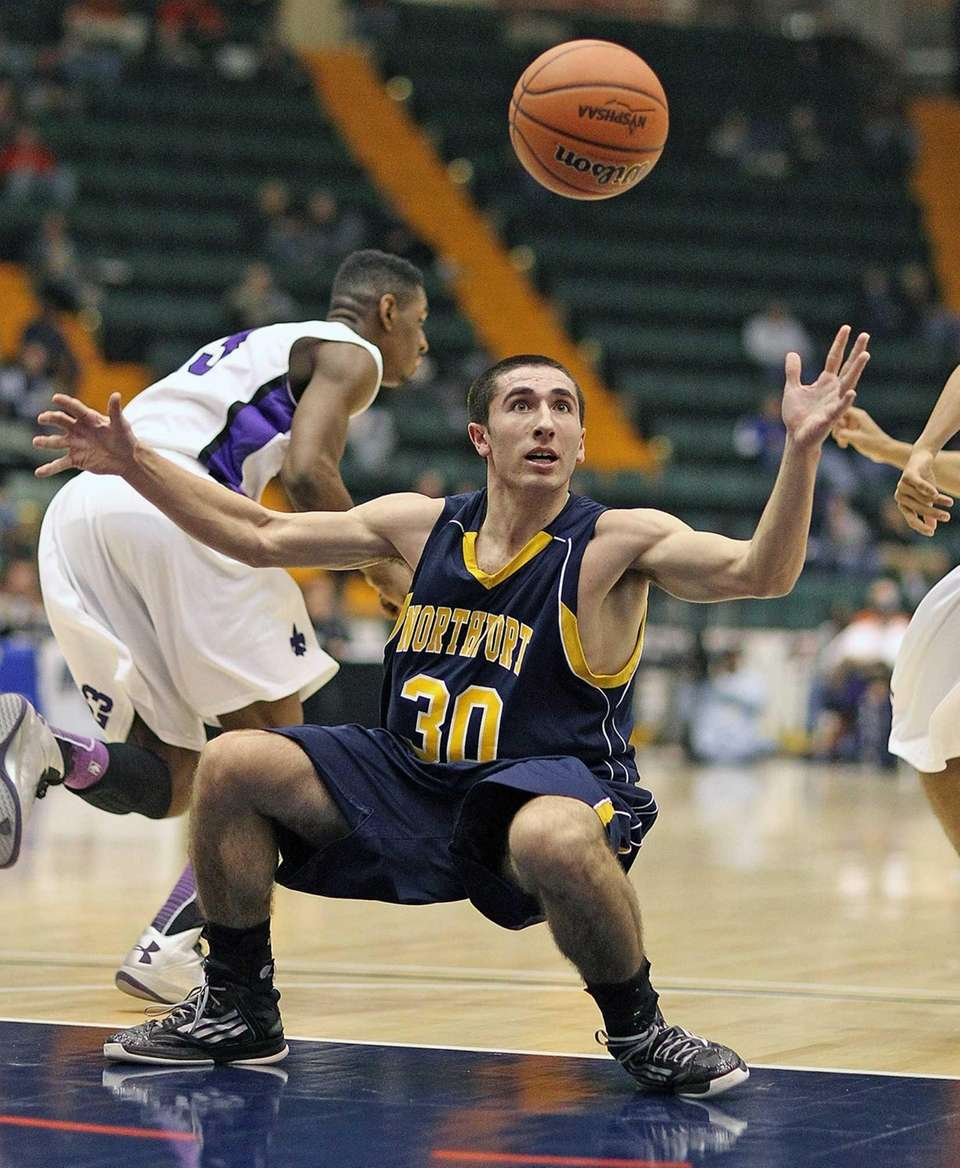 Northport's Matt Smith tries to recover the ball