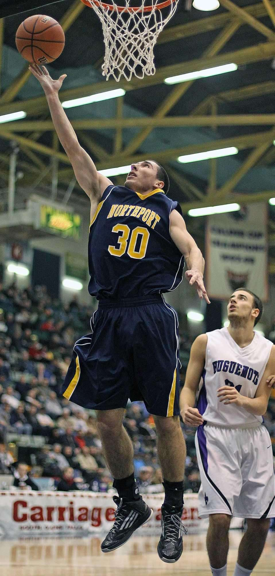 Northport's Matt Smith sinks basket during the New