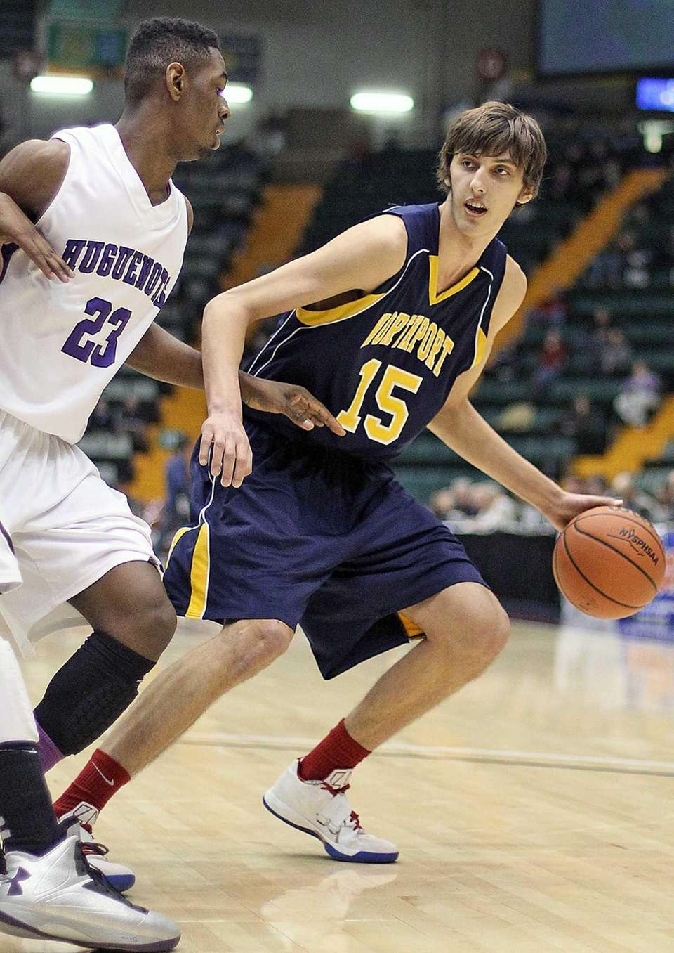 Northport's Luke Petrasek looks to make a move