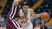 Babylon's Fernando Vazquez races down court. (March 16,