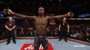 UFC middleweight champion Israel Adesanya will defend his