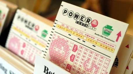 Powerball tickets await players at Cumberland Farms convenience