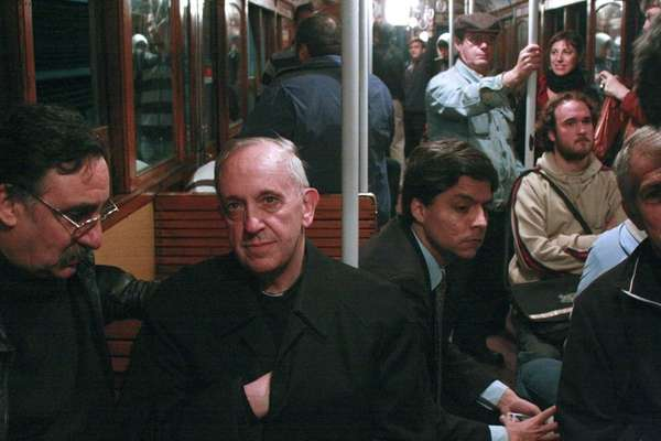 In this 2008 photo, Argentina's Cardinal Jorge Mario