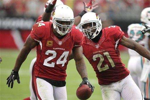 Arizona Cardinals strong safety Adrian Wilson (24) and