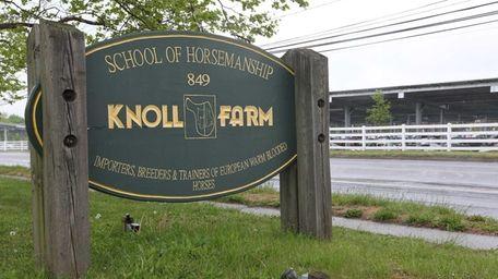 Knoll Farm, a 17-acre horse farm in Brentwood,