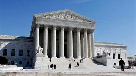 The U.S. Supreme Court building in Washington is