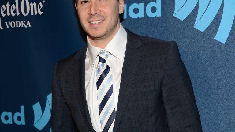 Vinny Guadagnino attends the 24th GLAAD Media Awards
