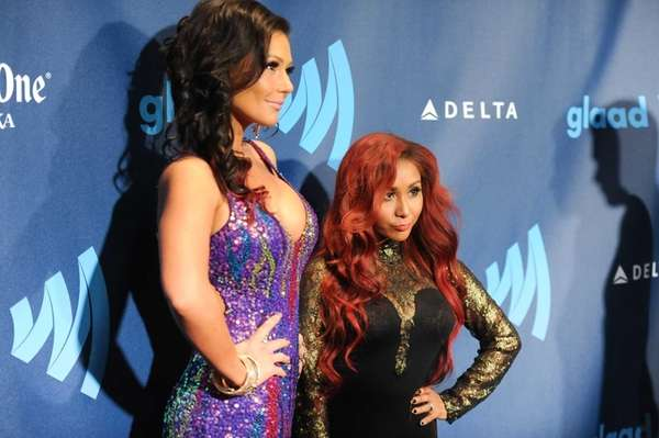"Jenni ""JWoww"" Farley, left, and Nicole ""Snooki"" Polizzi"