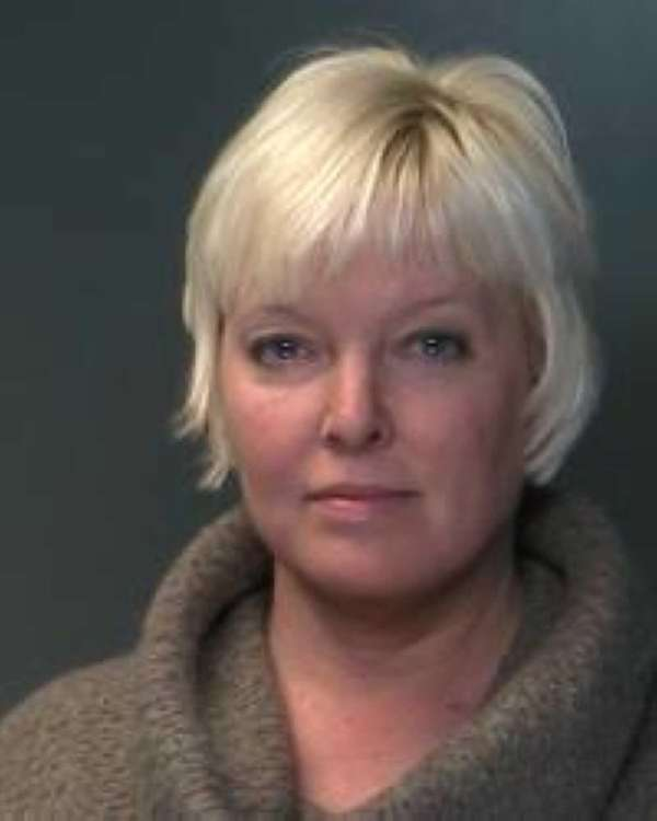 Krista Kazan,charged with Grand Larceny 4th Degree for
