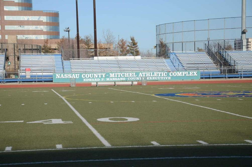 Nassau County's Mitchel Athletic Complex located on Charles