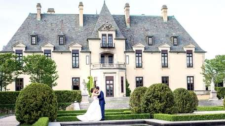 Oheka Castle in Huntington is a popular place