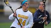 Wantagh freshman Nikki Sliwak gets pressured by West