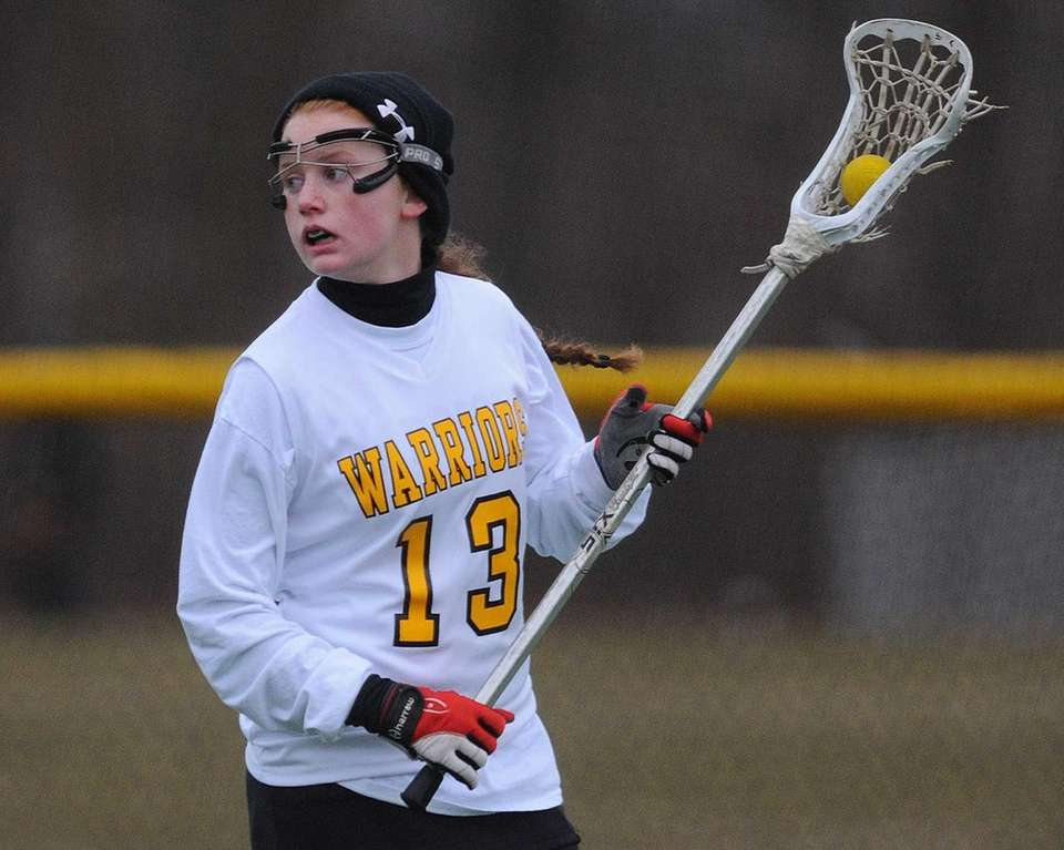 Wantagh junior Brenna Connolly looks to make a