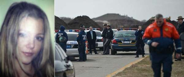 Police investigate the area of Ocean Parkway where