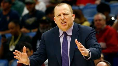 "Coach Tom Thibodeau said ""The first thing is"