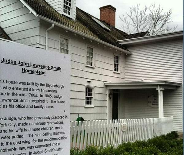 The Judge John Lawrence Smith Homestead in Smithtown