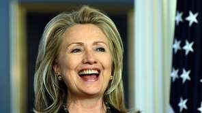 Former Secretary of State Hillary Rodham Clinton would