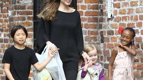 Power couple Angelina Jolie and Brad Pitt are