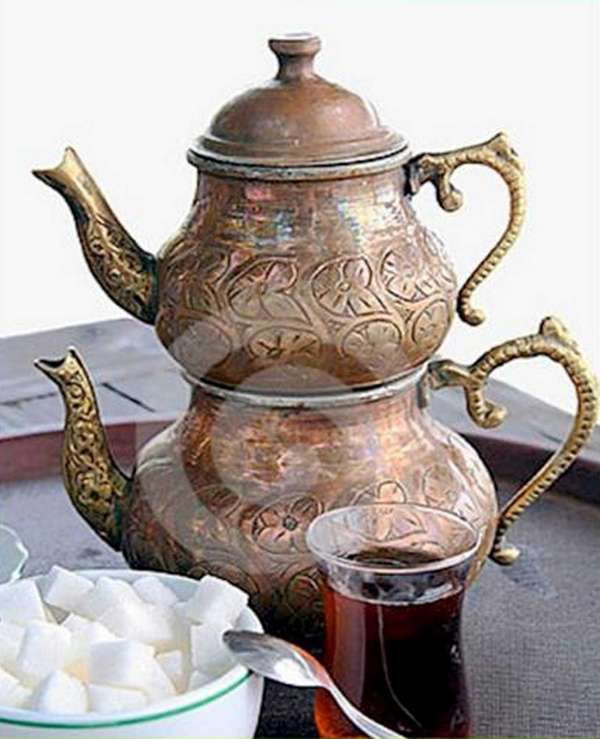 Turkish tea talk is being held at the