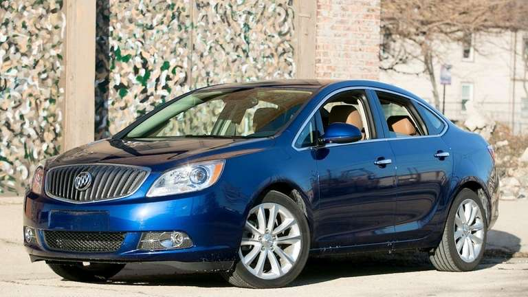The 2013 Buick Verano starts around $24,000 including