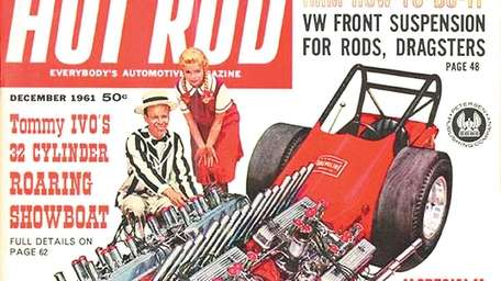 The cover of the December 1961 edition of