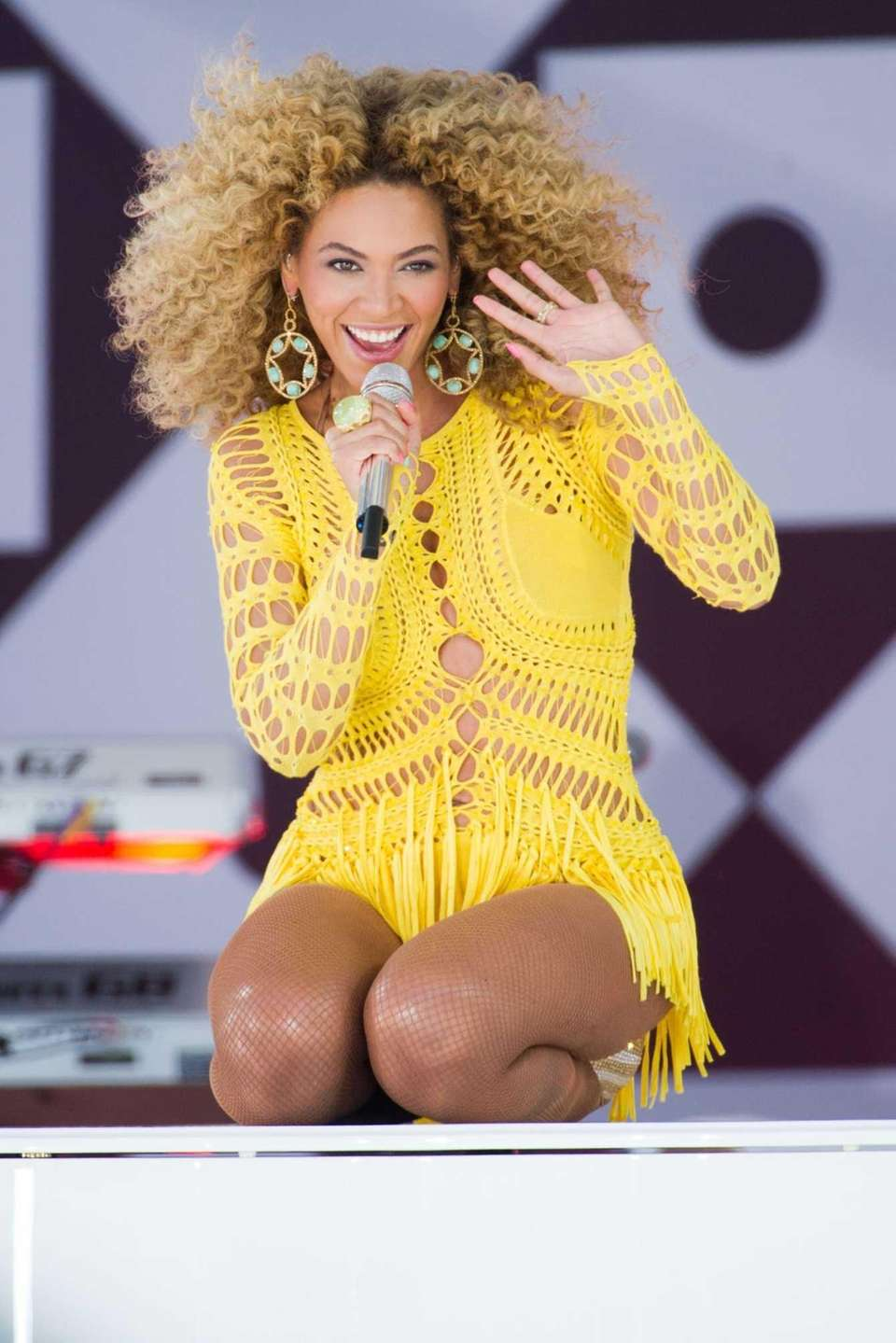 Beyonce performs on ABC's