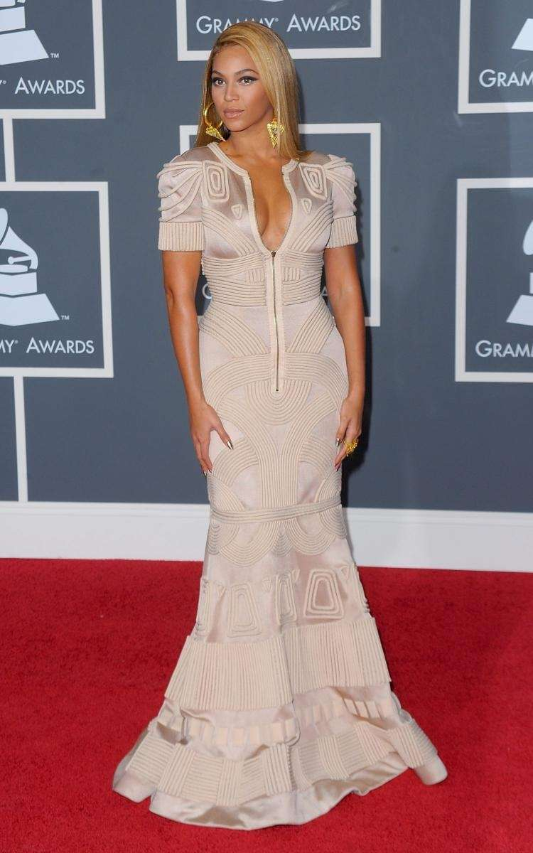 Beyonce in a Stephane Rolland gown at the