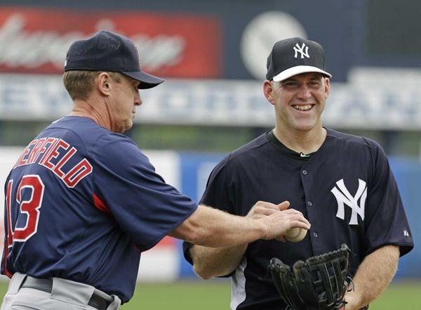 Boston Red Sox third base coach Brian Butterfield,
