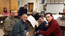 Members of the Smithtown Elementary School Parent Teacher