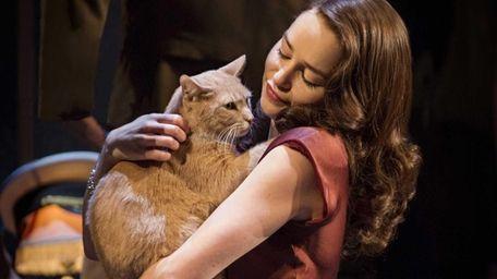 Emilia Clarke in a scene from