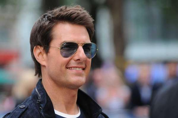 "Tom Cruise attends the European premiere of ""Rock"